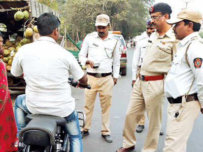 Owners of bikes with modified silencers fined by traffic police
