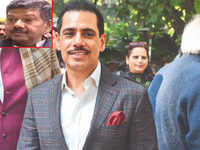 Rajasthan minister gives clean chit to Robert Vadra