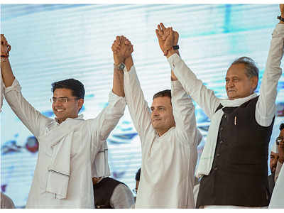Rajasthan Assembly Elections: Rahul Gandhi casts his lot with Congress' old guards as rift with Sachin Pilot widens