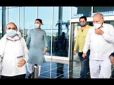 Wary of poaching, BJP packs off 20 Raj MLAs to Gujarat