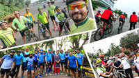 Mumbai cyclists do a themed 'Navrang Ride' across the city