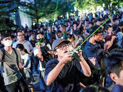 HK facing biggest crisis since handover: China