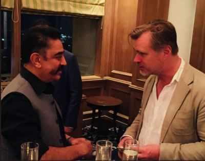 Kamal Haasan meets Christopher Nolan, gives him Hey Ram to watch