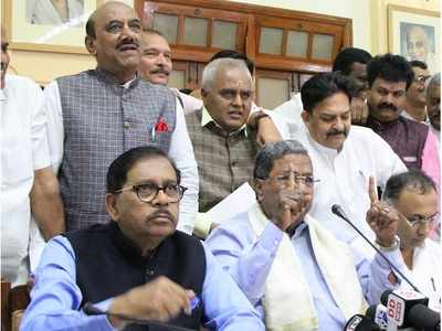 Attempts by some in Congress to block rise of Dalits: Deputy CM G Parameshwara