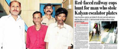 RPF nabs three for robbing Kalyan escalator floor plates
