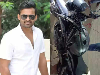 Sai Dharam Tej meets with a road accident