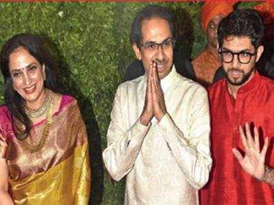 Raj Thackeray makes 'power' statement at son Amit's wedding
