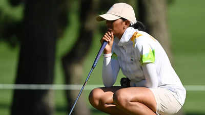 India's Aditi Ashok stays on course for historic golf medal