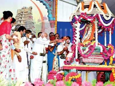 Muted Dasara festivities begin