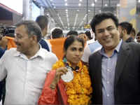 Asian Games 2018: Medal winners get warm welcome at Delhi's IGI airport