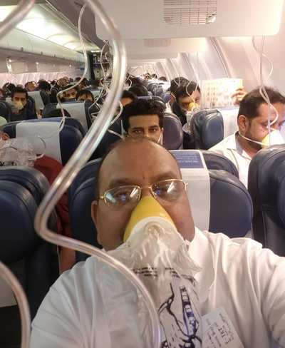 Jet Airways passenger recounts the horror: I was on the Jet Airways flight and I thought 'this is it'