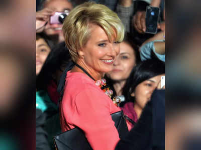 All about British star Emma Thompson's India visit