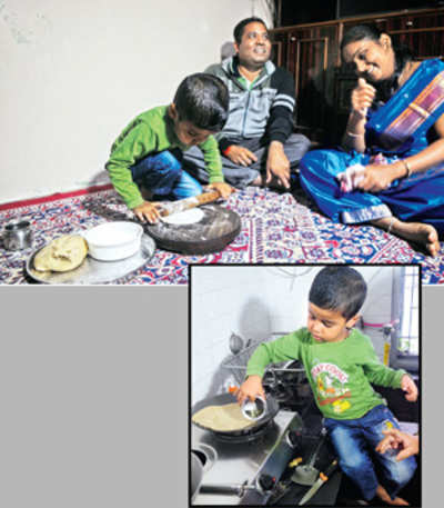 'Just dough it', is this city kid's mantra