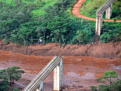300 missing in Brazil dam collapse