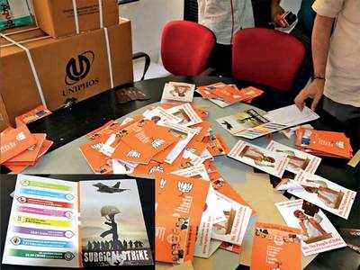 BJP 'spin factory' raided in Maha has unit in city