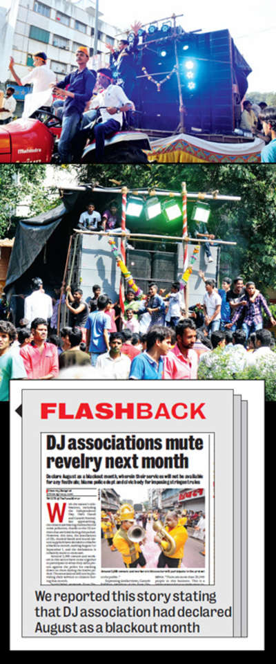 Dahi Handi, Independence day events could be hit as DJ associations boycott festivals across the city