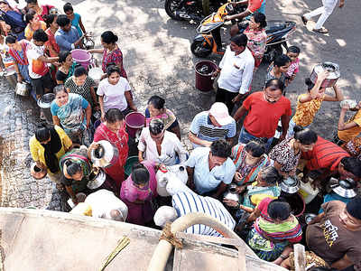 Over 200 water tankers, 400 trips to cover shortfall