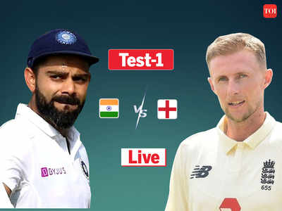 Highlights, India vs England 1st Test: England 25/0 at stumps on Day 3, trail by 70 runs