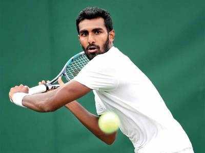 Prajnesh Gunneswaran: I'm playing, my father would want me to play