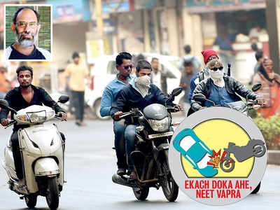 Parisar holds police, RTO accountable for success of helmet drive