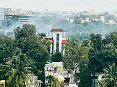 Burning garbage casts cloud on Kalyani Nagar