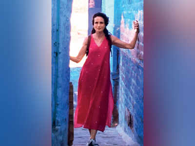 Now, Andie MacDowell comes to India
