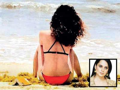 Kangana Ranaut hits back at those criticising her bikini photograph