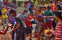Holi 2019: Revellers across India celebrate the festival of colours