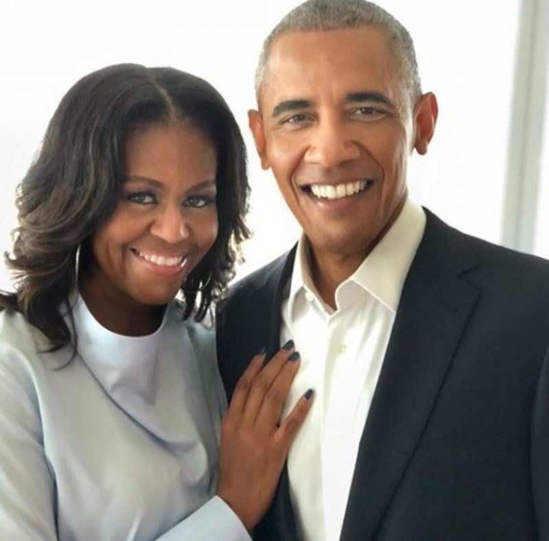 Barack obama and michelle obama love story