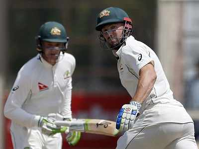 India vs Australia, Ranchi Test, Day 5: Peter Handscomb, Shaun Marsh take team to 149/4 at tea