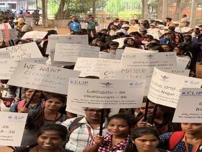 Citizens walk for decentralisation of Palike