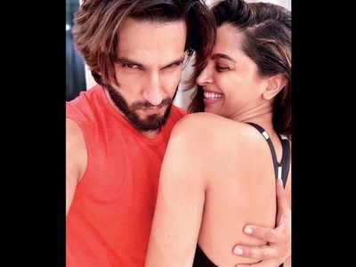 Ranveer Singh-Deepika Padukone's gym jam