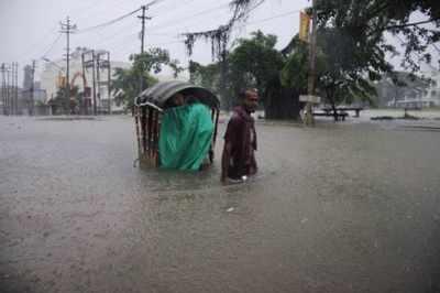 Flash floods hit Tripura due to incessant rains