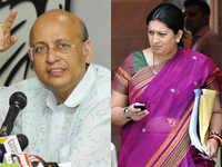 Congress rejects land scam charge, hits out at Smriti Irani