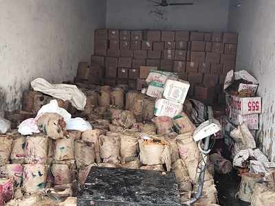 Kutch West Police seize 14 tonnes of inedible jaggery
