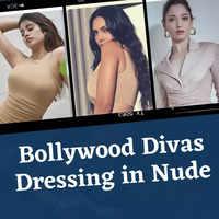 Bollywood divas dressing in nude