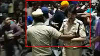 On cam: ACP escapes being lynched by violent mob in Delhi's Mukherjee Nagar