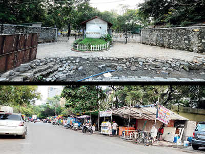 Poona Club accused of encroaching onto Airport Rd with wall