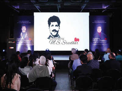 A studio to honour late MS Sreedhar