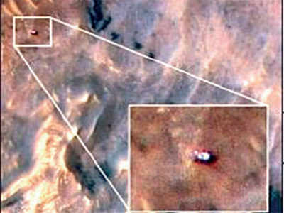 Fake News Buster: That's curiosity, not Vikram lander
