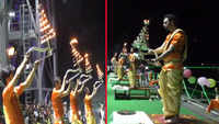 Watch: First-ever 'Tandav Aarti' performed in Himachal Pradesh