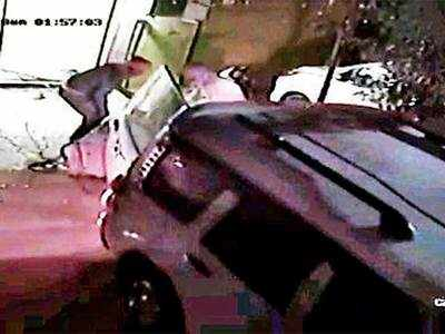 Pimpri-Chinchwad: ATM uprooted by tying it to SUV, second such incident with similar modus operandi