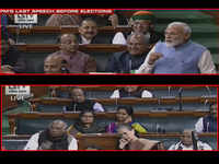 First time in Lok Sabha people flirted with eyes: PM's jibe at Rahul's wink