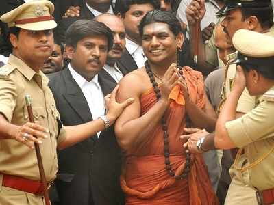 Nithyananda probe: Cops booked for showing porn to children