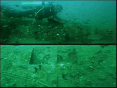 55 yrs after grandad saved pilot, Chennai diver locates jet wreck