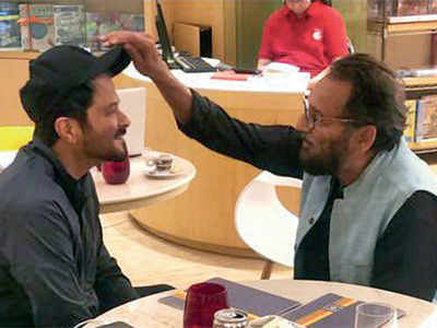 Were Shekhar Kapur and Anil Kapoor discussing Mr India 2?