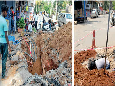 BBMP orders a stay on all digging work as precautionary measure after MET issues yellow alert in Bengaluru
