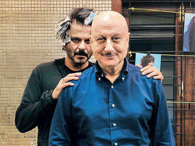 Love is in the 'hair' for Anupam Kher