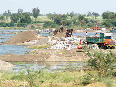 State plans use of drones to tackle illegal sand mining