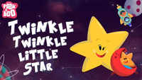 Popular Children English Nursery Rhyme 'Twinkle Twinkle Little Star' - Kids Nursery Rhymes In English